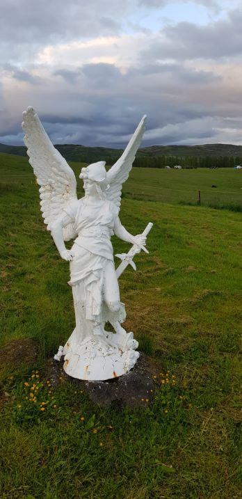 Statua in Islanda
